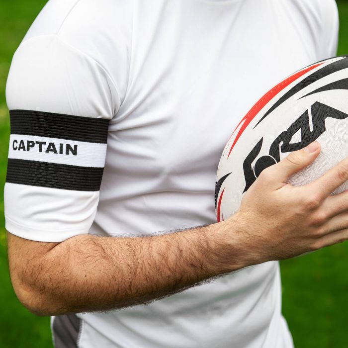 Black Rugby Captains Armbands for Sale