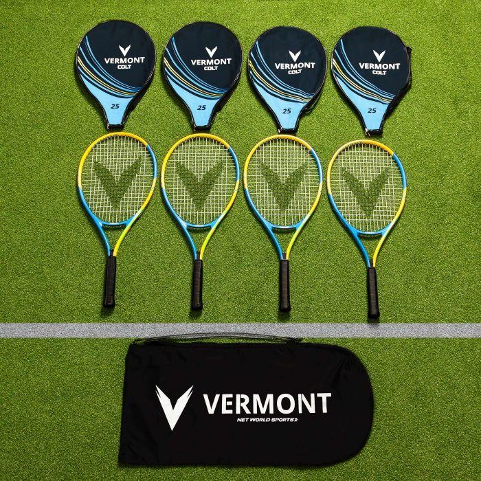 Vermont Mini Green Tennis Racket & Bag Set | Net World Sports