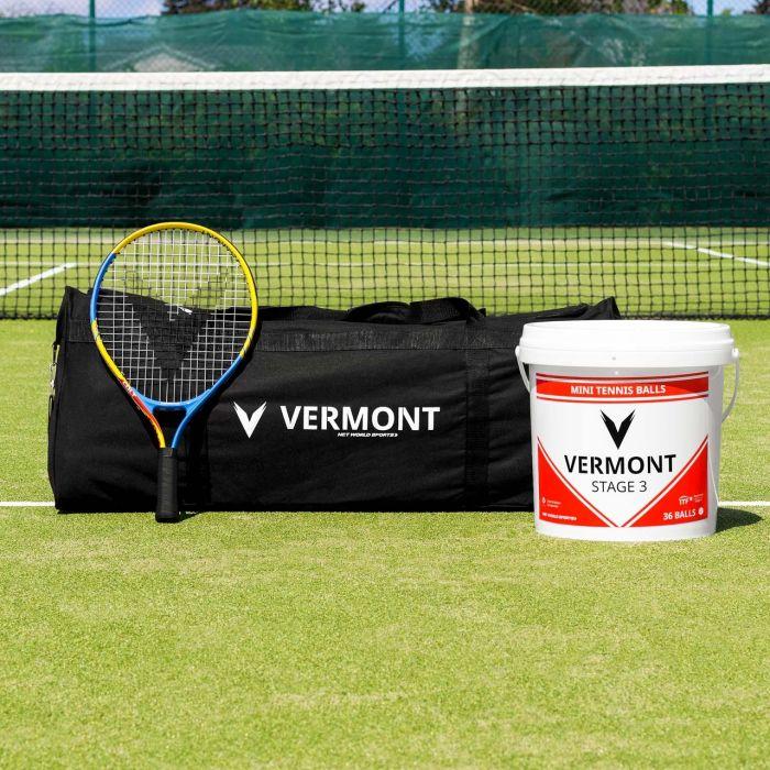 Vermont Mini Red Tennis Set (Stage 3 Kids Tennis) | Net World Sports