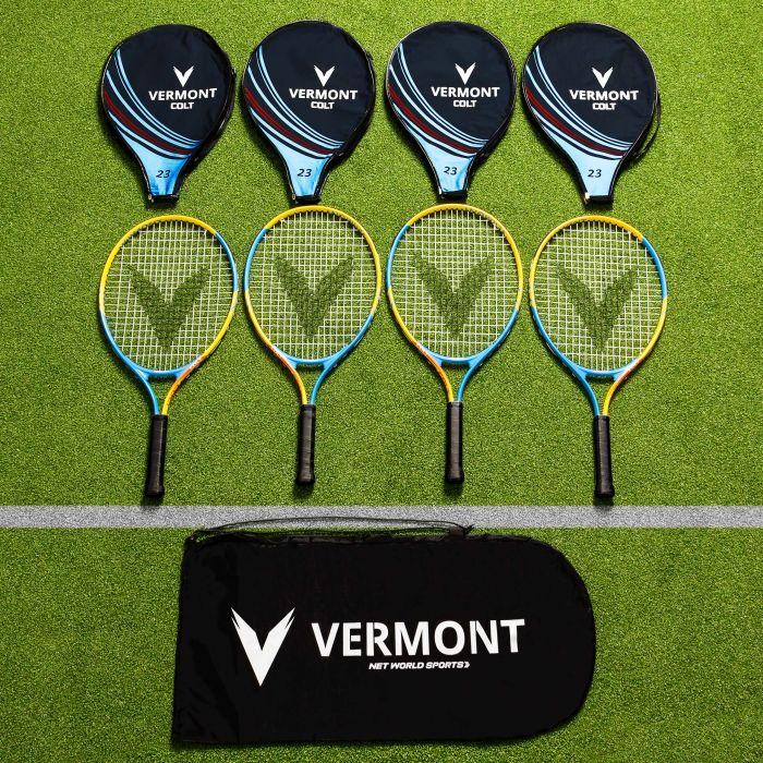 Vermont Mini Orange Tennis Racket & Bag Set | Net World Sports