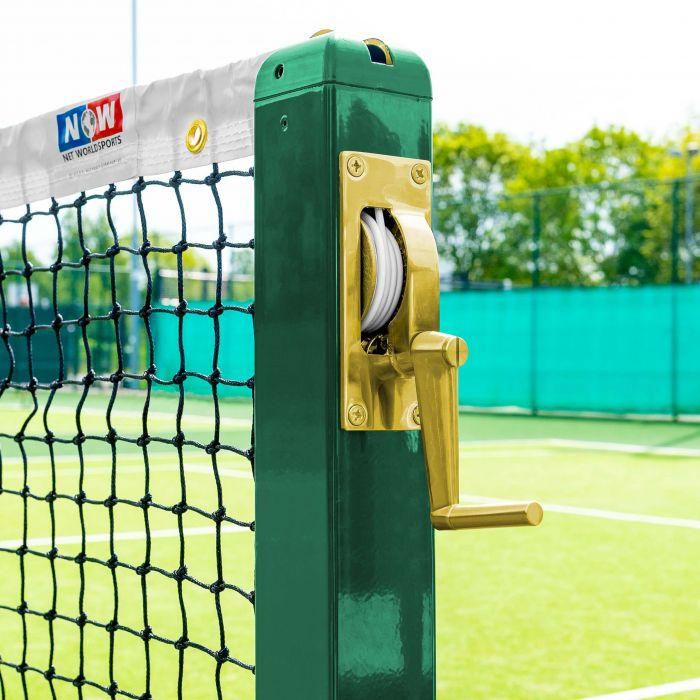 Brass Winder Mechanism For Tennis Posts | Net World Sports