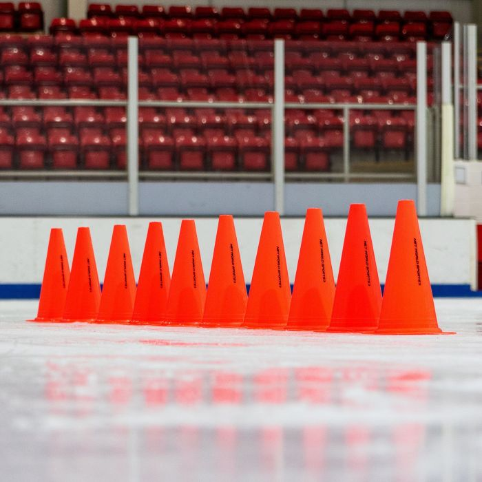 Packs Of 10 Or 100 Hockey Marker Cones