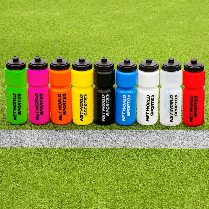 Multi-Coloured Sports Drink Bottles For Aussie Football Rules Teams