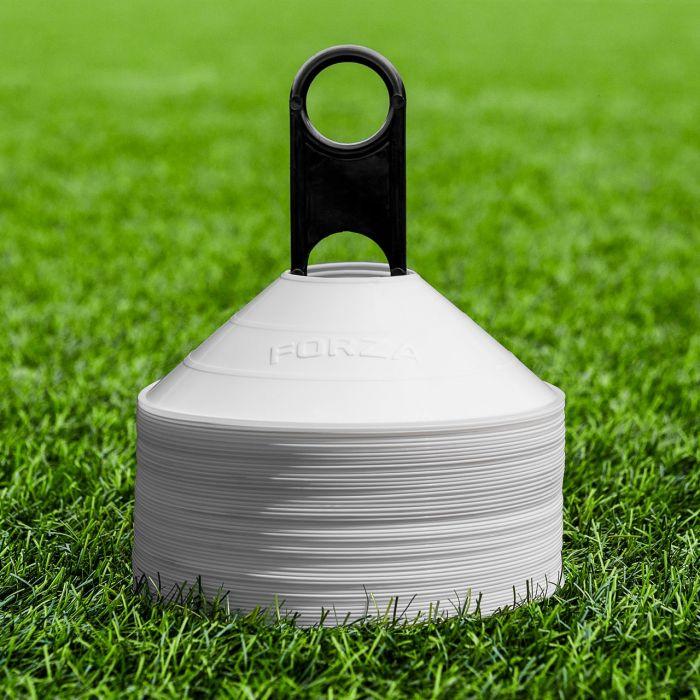 White Lacrosse Marker Cones