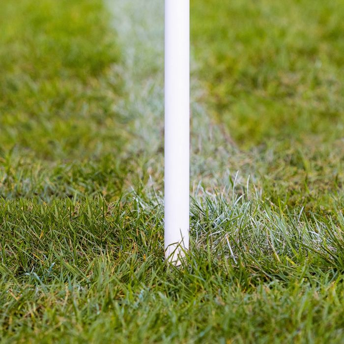 White Corner Pole