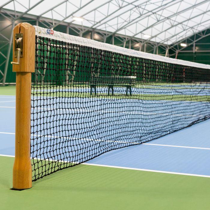 Wimbledon Style Wooden Tennis Posts ITF Tournament Regulation | Net World Sports