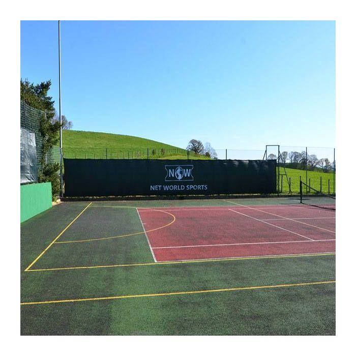 Black Outdoor Badminton Privacy Screen