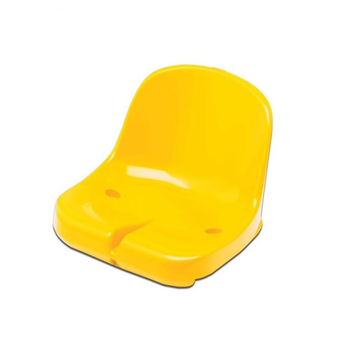 Yellow Moulded HDPP Seats for Sports Dugout & Shelters | Net World Sports