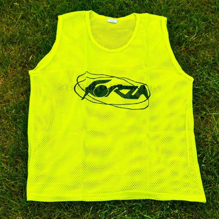 Fluorescent Yellow Bibs For Football Training Drills