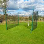 Ultra Durable Batting Cage Net With 40mm Steel Poles | Net World Sports