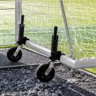 24 x 8 FORZA Alu110 Freestanding Football Goal With 360 Wheels