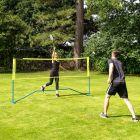 Vermont ProCourt Mini Tennis & Badminton Combi Net | Garden Sports For Families | Net World Sports