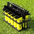 10 AFL hygiene bottles and carrier