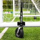 16 x 4 FORZA Alu110 Freestanding Football Goal With 360 Degree Wheels