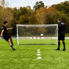 Freestanding Football Goal