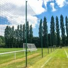 Aluminium Protective Ball Stop Net Post | Net World Sports