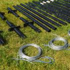 Archery Net Hanging Pegs & Poles - How To Build An Archery Net