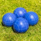Blue Patterned 10cm Bocce Balls