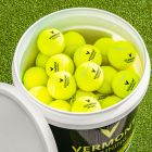 Bucket Of Tennis Balls For Tennis Coaches