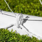Heavy Duty Goal Netting With Plastic Net Clips   Net World Sports