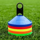 Multi-Coloured Hockey Marker Cones