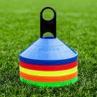 Multi-Coloured American Football Training Marker Cones