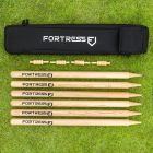 Complete Set Of Professional Wooden Cricket Stumps | Net World Sports