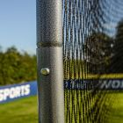 Ball Stop Net System With Galvanised Steel Frame & Button Locking System | Net World Sports