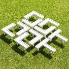Grass Court Tennis Line Marking Pins | Tennis Court Lines
