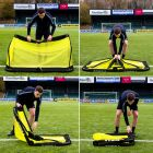 Quick To Assemble Training Football Goals