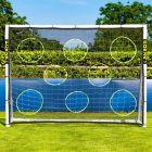 8 x 6 Soccer Goal Target Sheet | 8 Hole Target Sheets