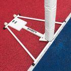 Portable Aluminium Netball Posts