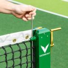 Tournament Grade Pickleball Posts With Brass Winder Mechanism | Net World Sports
