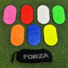 Multi-Coloured FORZA Flat Disc Markers