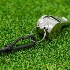 Stainless Steel Referee Whistle | Net World Sports