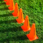Marker Cones Suitable For Football Training Sessions