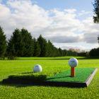Rubber Base Golf Practise Mat