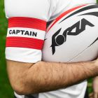 Red Rugby Captains Armbands for Sale