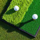 Dual Terrain Golf Practice Mat