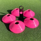 Pink AFL Boundary Cones