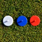 Plastic Golf Ball Markers Position Place
