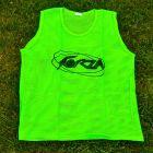 Green Football Training Vests
