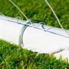 Freestanding GAA Goal Posts With Steel U-Pegs | Net World Sports
