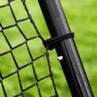 Dual-Angle Football Rebound Net