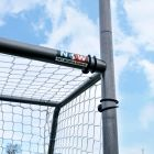 Simple Assembly Button Locking System GAA Goal Posts | Net World Sports