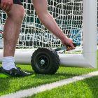 16 x 7 Freestanding Stadium Soccer Goal
