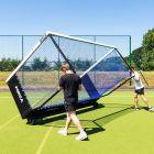 Portable UV Stabilised Hockey Goal Wheel