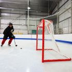 Professional Hockey Goal & Net For Competition | Net World Sports
