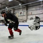 Ice Hockey Speed Chute Training