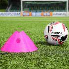 Pink Football FORZA Mega Cone And Bag